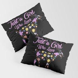 Just A Girl Who Loves Goats Pillow Sham