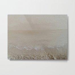 Sand Dreams - Original Art Textured Painting by Tracy Sayers Trombetta Metal Print