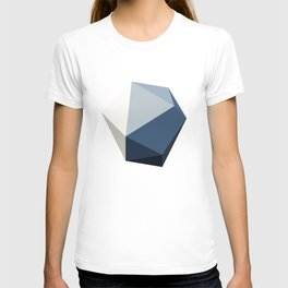 Minimal Geometric Polygon Art T-shirt