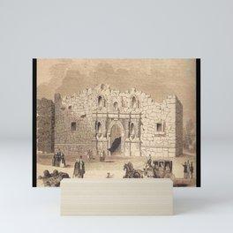Alamo Mini Art Print