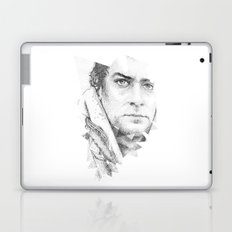 bonobo dot work portrait Laptop & iPad Skin