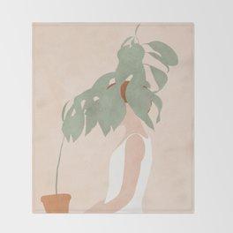 Lost in Leaves Throw Blanket