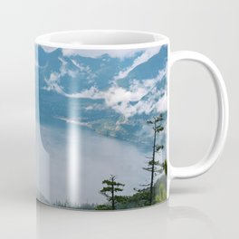 Fog over the water in Squamish BC Coffee Mug