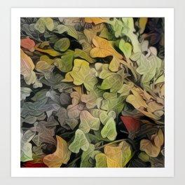 Inspired Layers Art Print