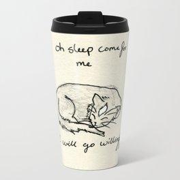 Oh Sleep Metal Travel Mug
