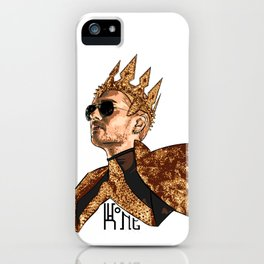 King Bill - Black Text iPhone Case