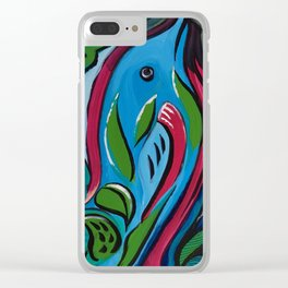 Art by Armando Renteria Organically Driven Clear iPhone Case