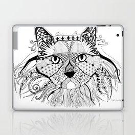 Hunter - The Diva Cat Laptop & iPad Skin