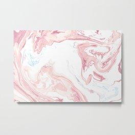 Berry Yoghurt Metal Print