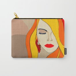 Redhead Beauty 1 Carry-All Pouch