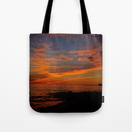 First Sunset of Summer Tote Bag