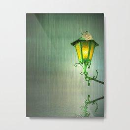 Raining Metal Print
