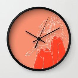Lil' Red Wall Clock