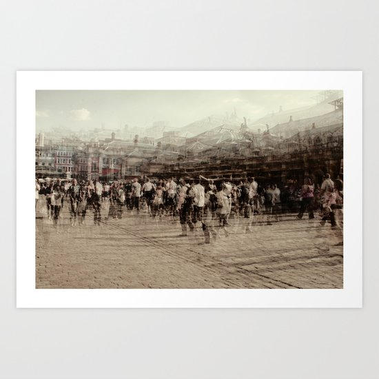 covent garden Art Print