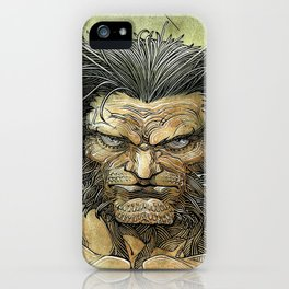 Logan by Roger Cruz iPhone Case