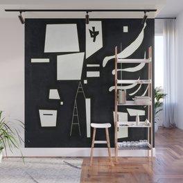 Wassily Kandinsky Soft and Hard Wall Mural