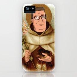 Saint Hank Hill iPhone Case