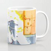 heroes Mugs featuring Heroes by SquidInkDesigns