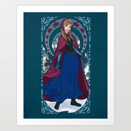 Worth Melting For Art Print
