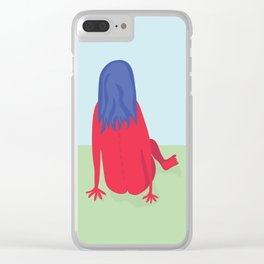 Day in the Park Clear iPhone Case