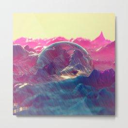 Primordial Sunrise Metal Print