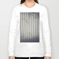 grid Long Sleeve T-shirts featuring Grid by farsidian