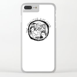 The Sensitive Kids Club Clear iPhone Case