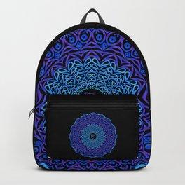 Tribal Dolphin Mandala Backpack