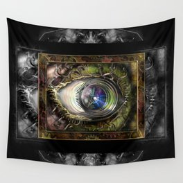 Eye of the Elemental Universe Wall Tapestry