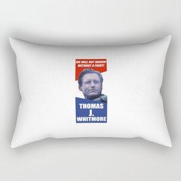 Thomas J. Whitmore Rectangular Pillow