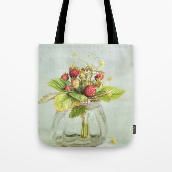 tiny berries Tote Bag