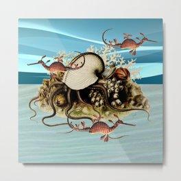 Flight Of The Sea Dragons Metal Print