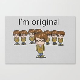 I'm Original Canvas Print