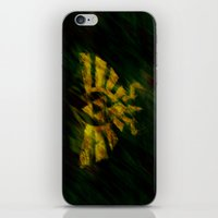 triforce iPhone & iPod Skins featuring Triforce by Ralf Crawford