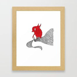 Flying Fox Framed Art Print