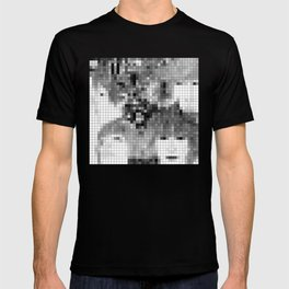The Fab Four - Revolver Pixel Cover T-shirt