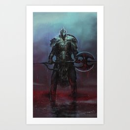 The Darkslayer  Art Print