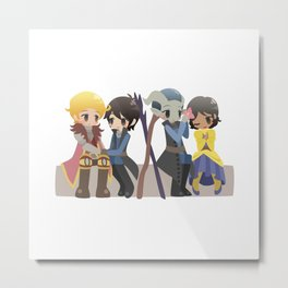 Dragon Age - Cullen, Josephine, and Inquisitors [Commission] Metal Print