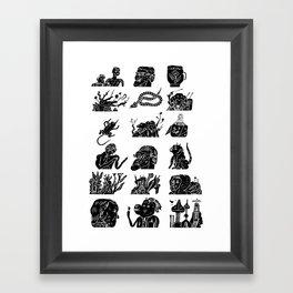 flflf Framed Art Print
