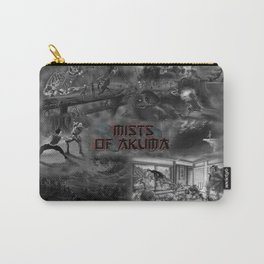 Mists of Akuma Collage (Sara Shijo) Carry-All Pouch