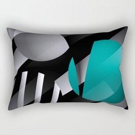 3D - abstraction -112- Rectangular Pillow