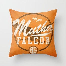 MF-ing BG Throw Pillow