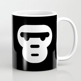 The grumpiest monkey. Coffee Mug