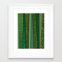 bamboo Framed Art Prints featuring Bamboo by glorya