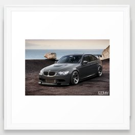 BMW 335i to M3 Conversion Framed Art Print