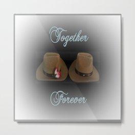 Together Forever Metal Print