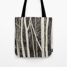 Forest Faces  Tote Bag