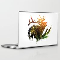elk Laptop & iPad Skins featuring Elk by Justin Kedl