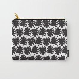 Leaf B&W Carry-All Pouch