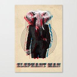 Elephant Man Canvas Print